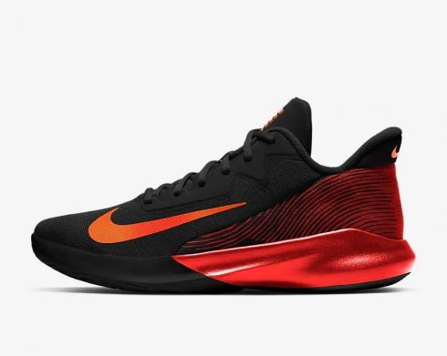 Nike Precision 4 Black Camellia Chile Red Basketball Shoes CK1069-004