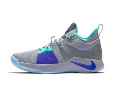 Nike PG 2 EP Pure Platinum Neo Turqouise Wolf Grey AO2984-002