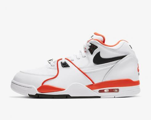 Nike Air Flight 89 EMB Rucker Park White Team Orange Black CZ6097-100