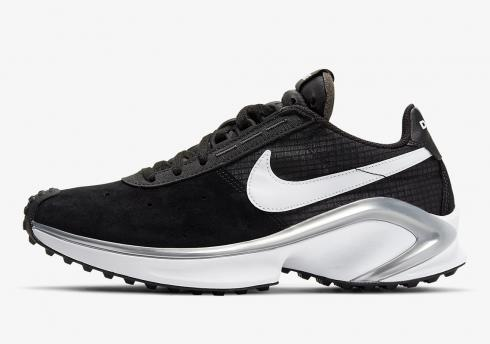 Nike D MS X Waffle Black White Starfish Silver Running Shoes CQ0205-001