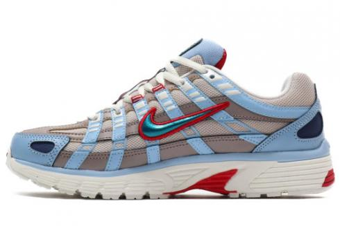 Nike P-6000 Sail Teal Nebula Grey Running Shoes CK2961-131