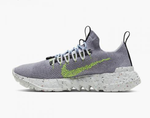 Nike Space Hippie 01 Grey Volt White Green Running Shoes CQ3986-002