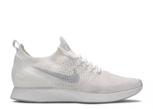 Nike Wmns Air Zoom Mariah Flyknit Racer White Pure Platinum AA0521-101