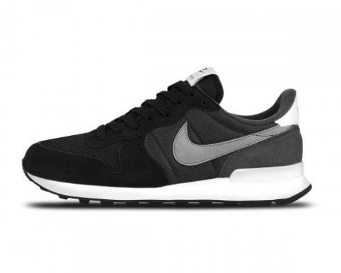 Nike Wmns Internationalist Black Cool Grey Anthracite Running Shoes 828407-016