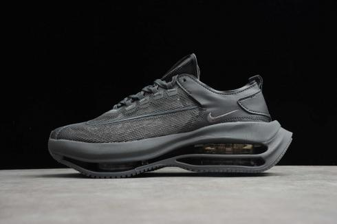 Nike Zoom Double Stacked Charcoal Black Running Shoes CI0804-600