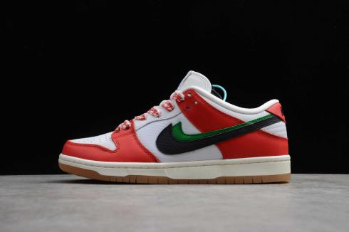 Frame Skate X Nike Dunk Low SB Chile Red White Lucky Green Black CT2550-600