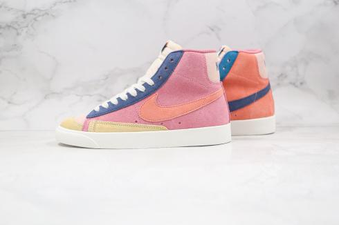 Nike Blazer Mid 77 Vintage Suede Desert Berry Red Blue Washed Lemon Yellow Atomic DC9179-664