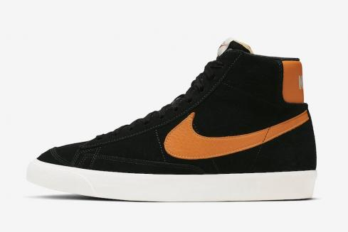 Nike Blazer Mid Vintage Black Orange CJ9693-001