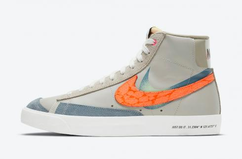 Nike SB Blazer Mid Shanghai Grey Orange Green Multi-Color DC3278-280