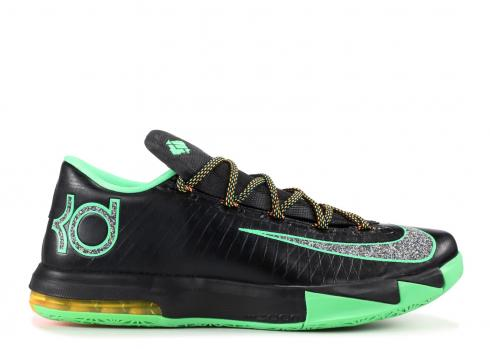 kd 6 black and green Kevin Durant shoes