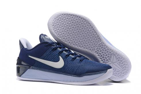 kobe blue and white shoes