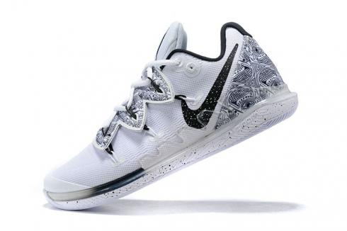 Nike Kyrie Ivring V 5 Hand of Fatima White Print New Basketball Shoes AO2919-910