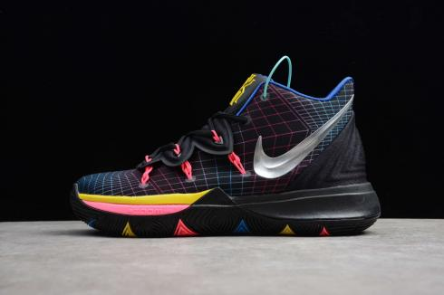 Nike Kyrie V 5 EP All Star Black Pink Ivring Basketball Shoes AO2919-112