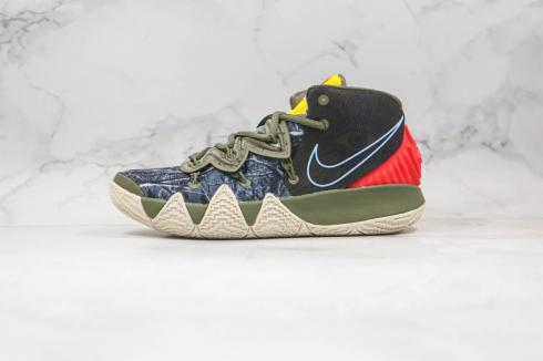 Nike Zoom Kyrie S2 Hybrid Olive Green Red CT1971-902