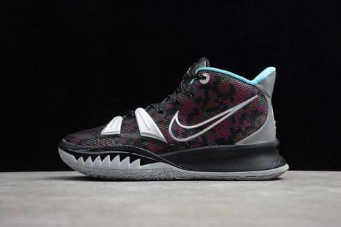 Nike Zoom Kyrie 7 EP Black Silver Pink White Basketball Shoes CT4080-008