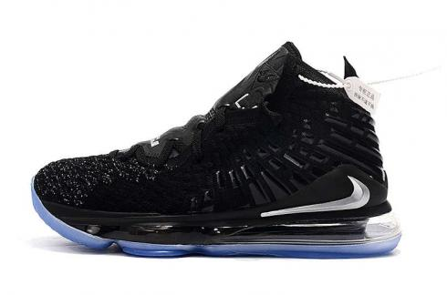 Nike Zoom Lebron XVII 17 Currency Black Silver James Basketball Shoes Release Date BQ3177-906