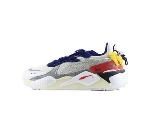 Puma RS-X Ader Error Whisper White Blueprint Red Sneakers 369538-01