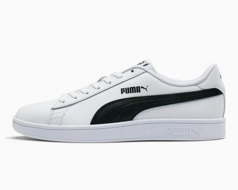 Puma Smash V2 L White Black Classic Men Shoes Sneakers Trainers 365215-01
