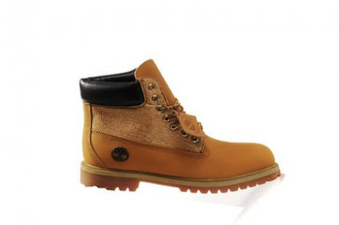 Timberland 6-inch Premium Scuff Proof Boots For Men Wheat Gold Black