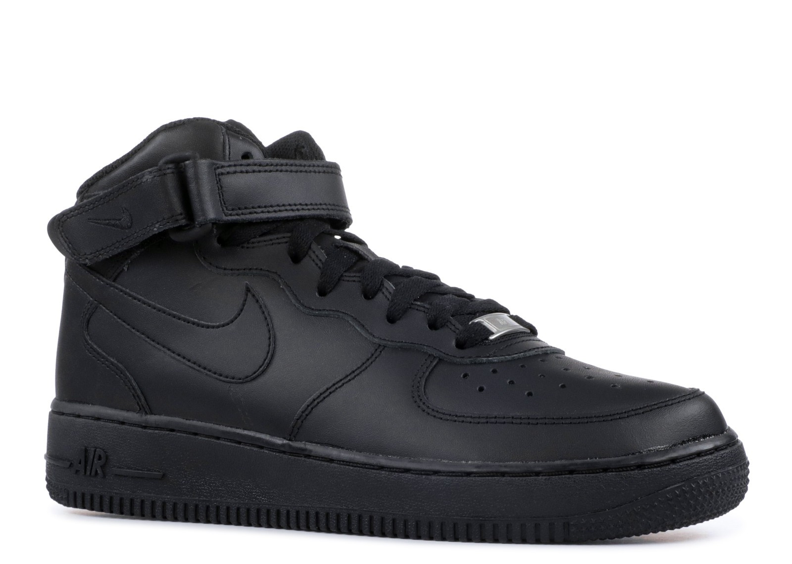 Nike Air Force 1 Mid GS Big Kids Sneakers Black 314195 004
