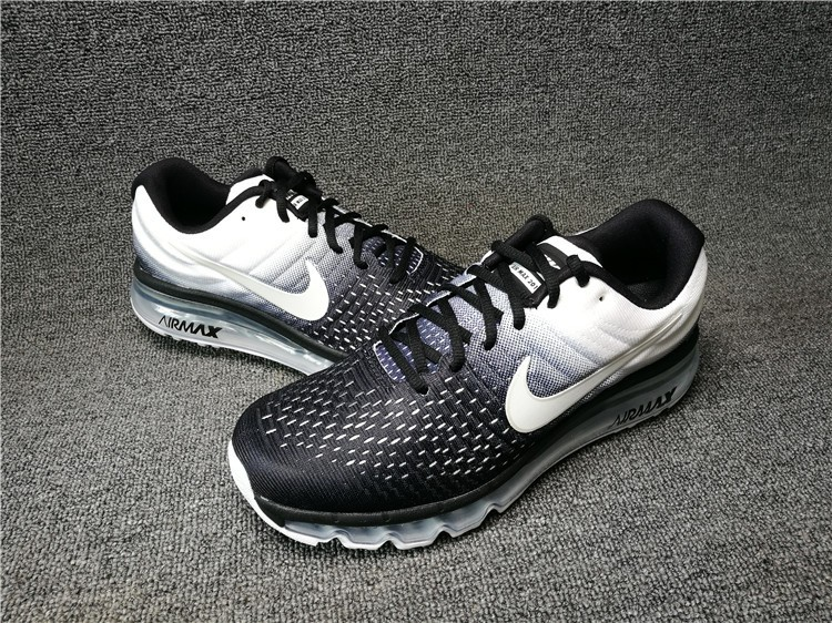 Nike Air Max 2017 Black White Shoes Best Price 849559 010