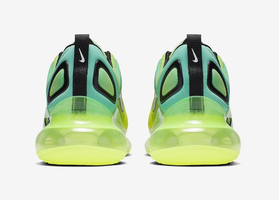 Nike Air Max 720 Volt Black Bordeaux Space Glow AO2924 701