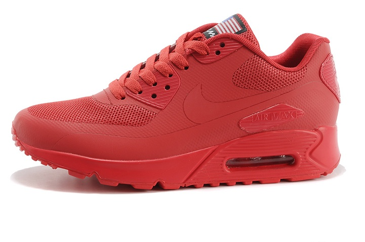 CLEAN NIKE USA air max 90 sport Red independence day 613841
