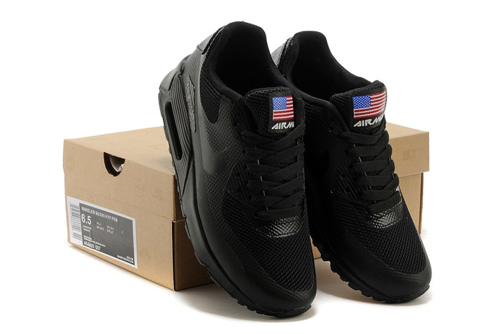 Venta anticipada manual frio  Nike Air Max 90 Hyperfuse QS Sport USA Black July 4TH Independence Day  613841-001 - FebRun