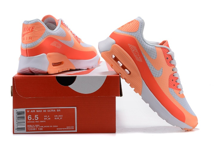 725061 Hot Lava White 90 WMNS Shoes 100 Ultra BR Air Sunset Nike Max Glow 0w8nkOP