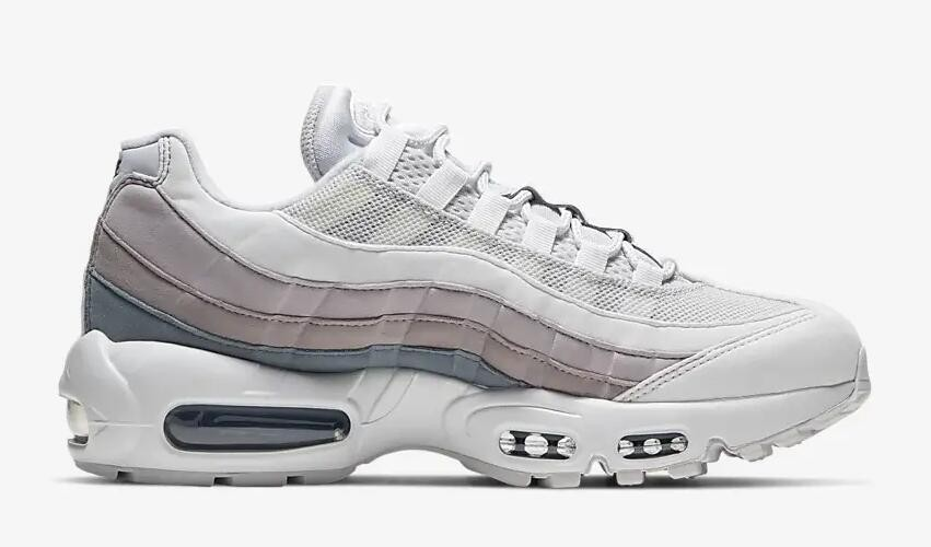 Nike Air Max 95 Vast Grey Summit White Violet Ash Oil Grey 307960 022