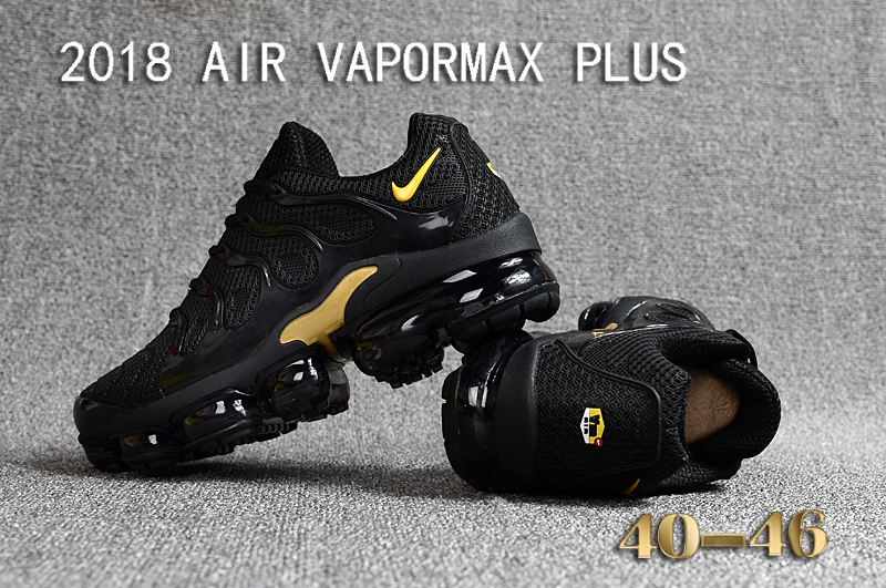 air max plus tn black and gold