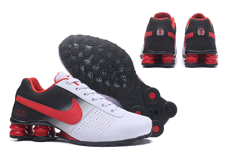 Nike Air Shox Deliver 809 Men Running shoes White Black Red