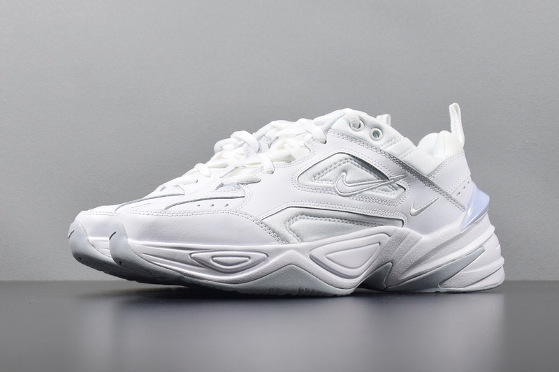 Nike M2K Tekno All White Casual Shoes