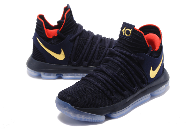 red and black kd 10 Kevin Durant shoes