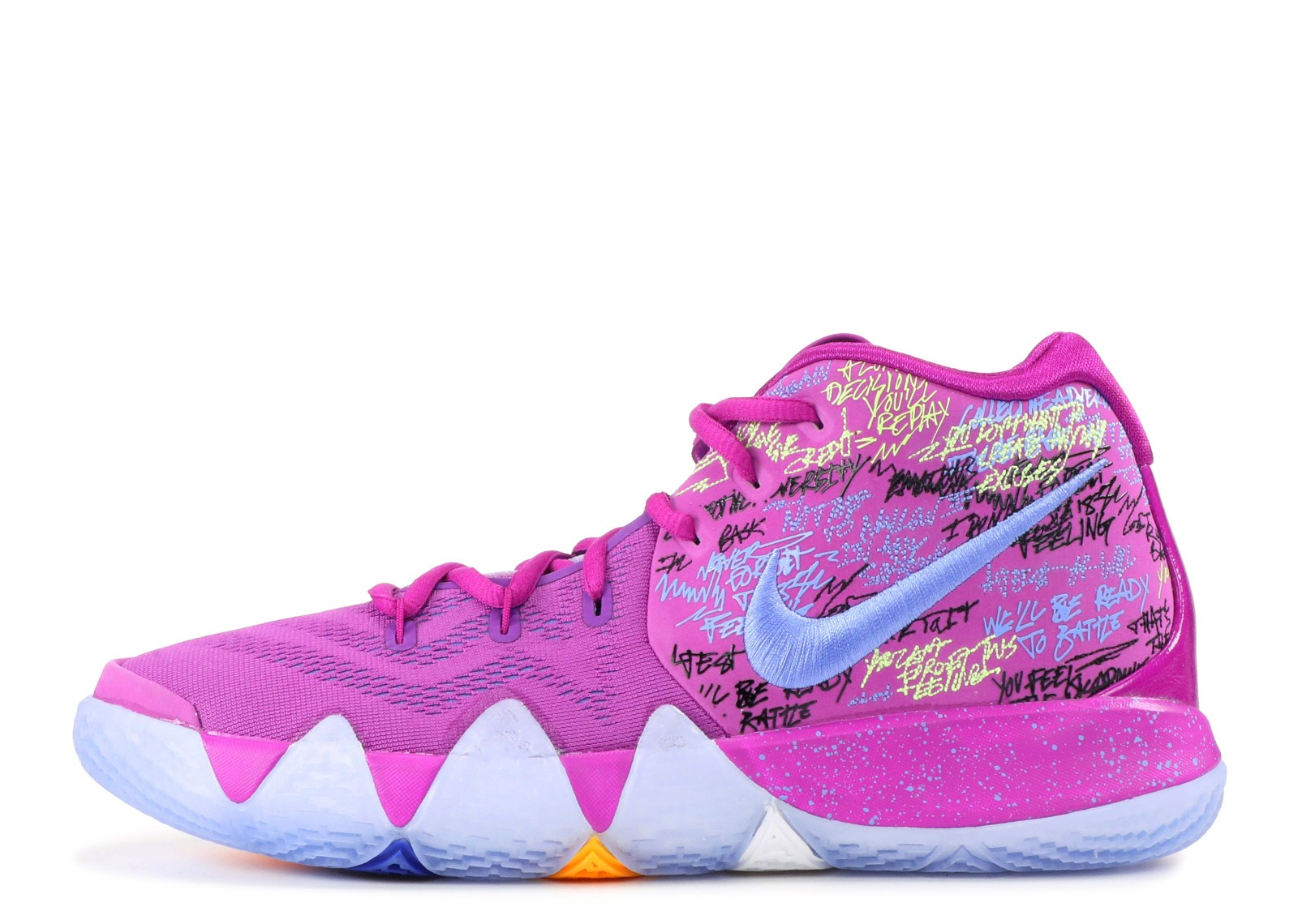 kyrie 4 green and purple